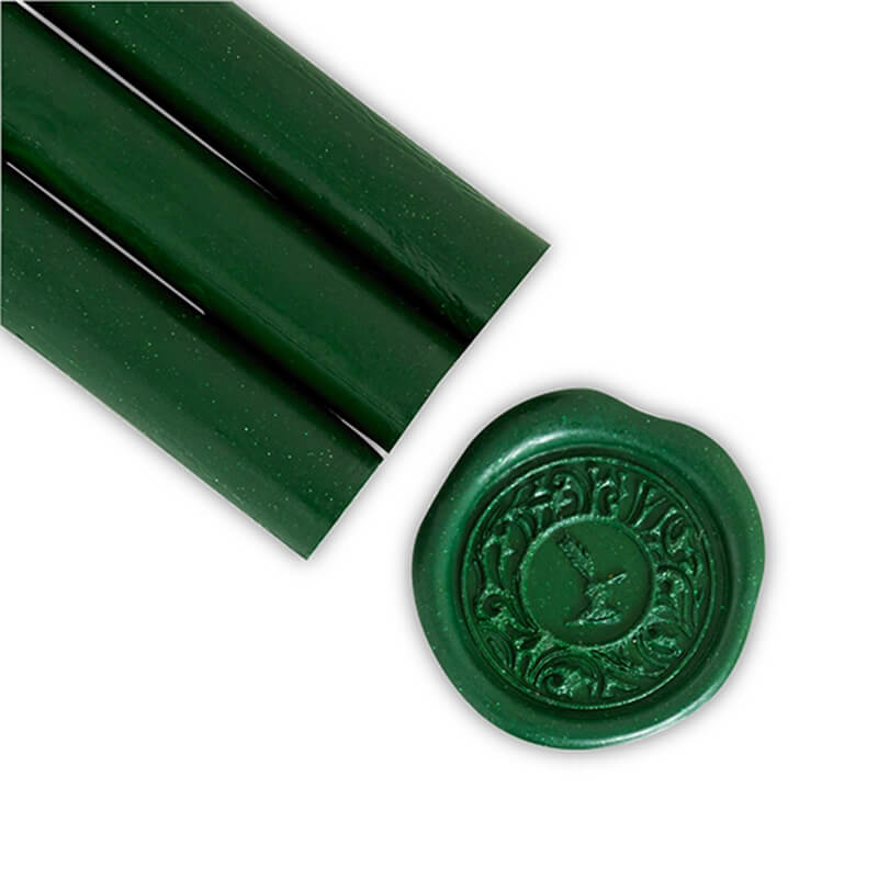 Forest Green Glue Gun Sealing Wax