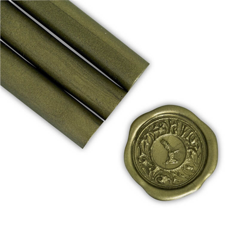 Moss Green Glue Gun Sealing Wax