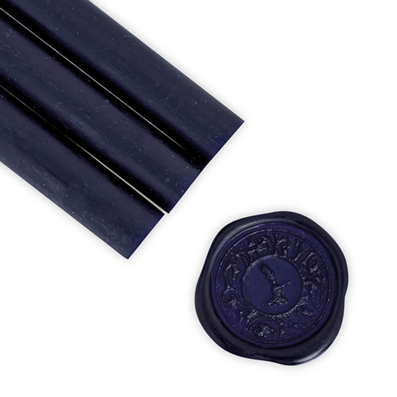 Dark Navy Blue Glue Gun Sealing Wax