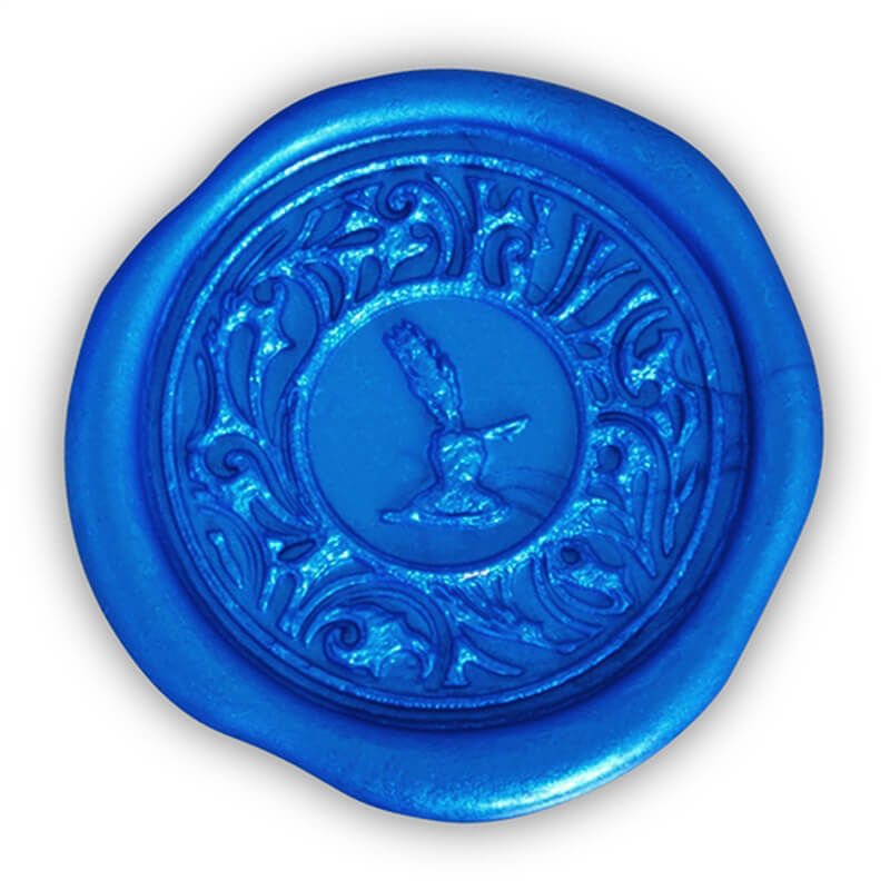 Cobalt Blue Glue Gun Sealing Wax