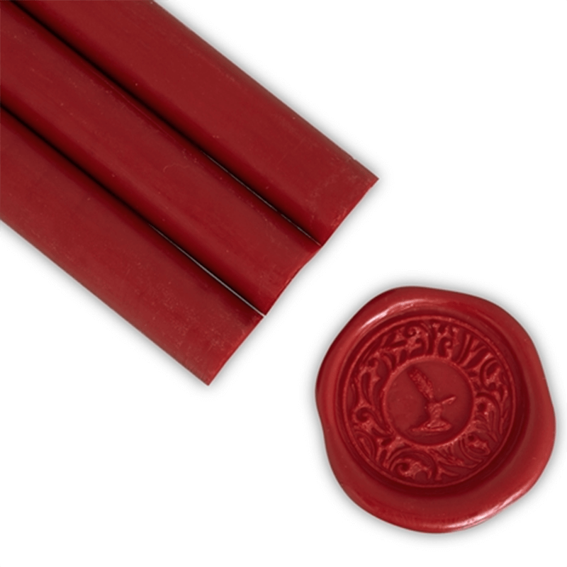 Deep Red Glue Gun Sealing Wax
