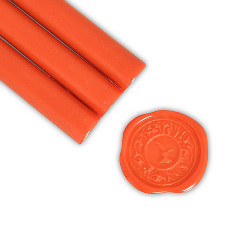 Orange Flame Glue Gun Sealing Wax