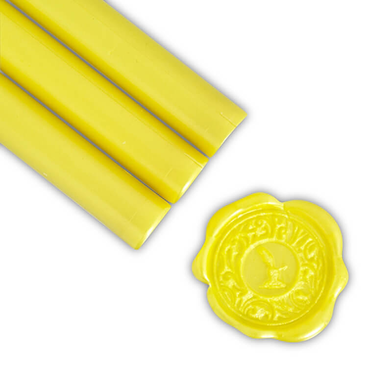Primrose Yellow Glue Gun Sealing Wax