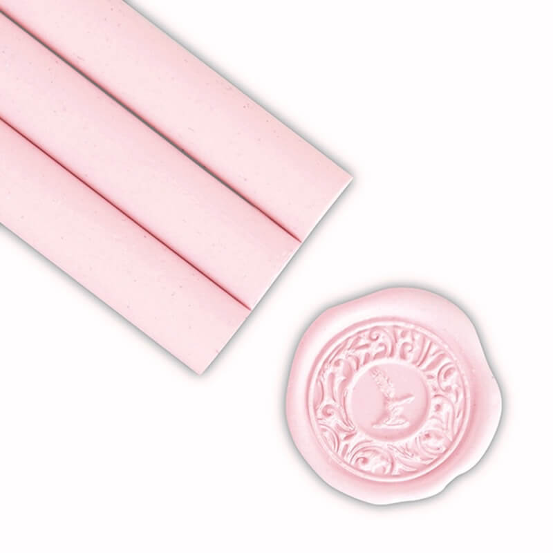 Soft Pink Glue Gun Sealing Wax