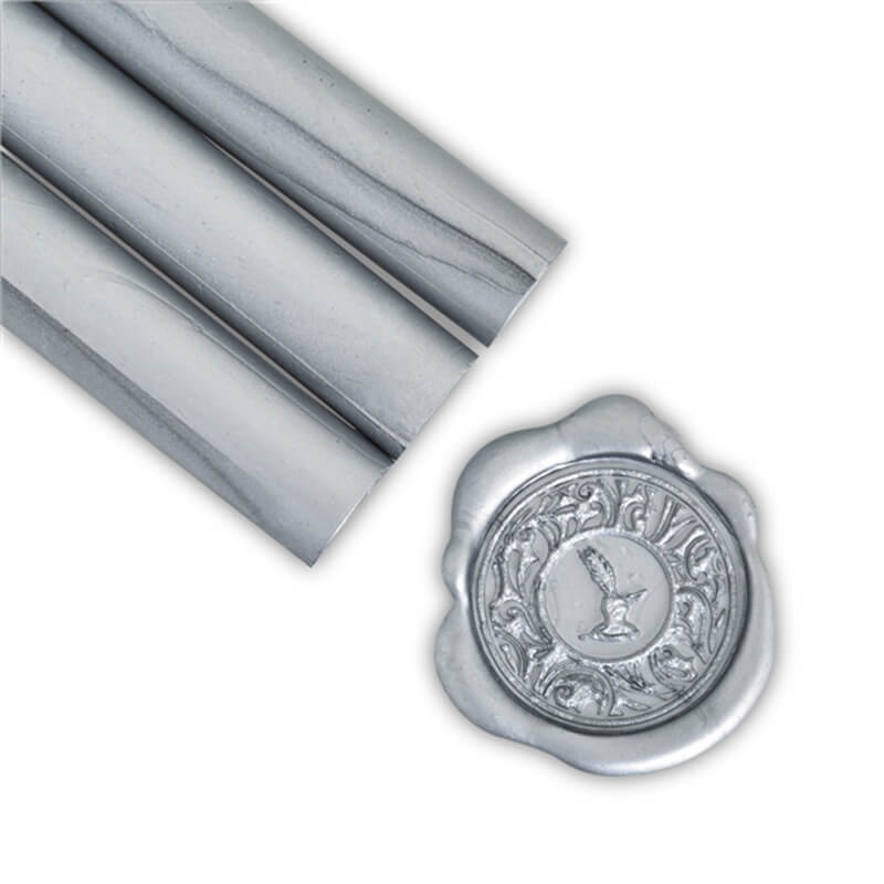 Metallic Silver Glue Gun Sealing Wax