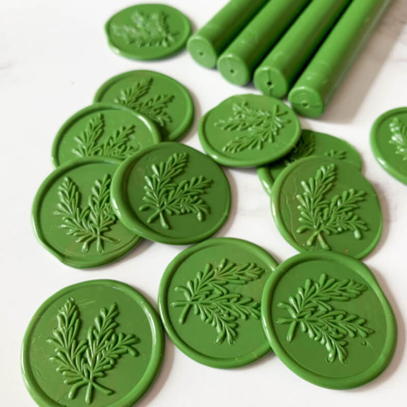 Khaki Sealing Wax Sticks