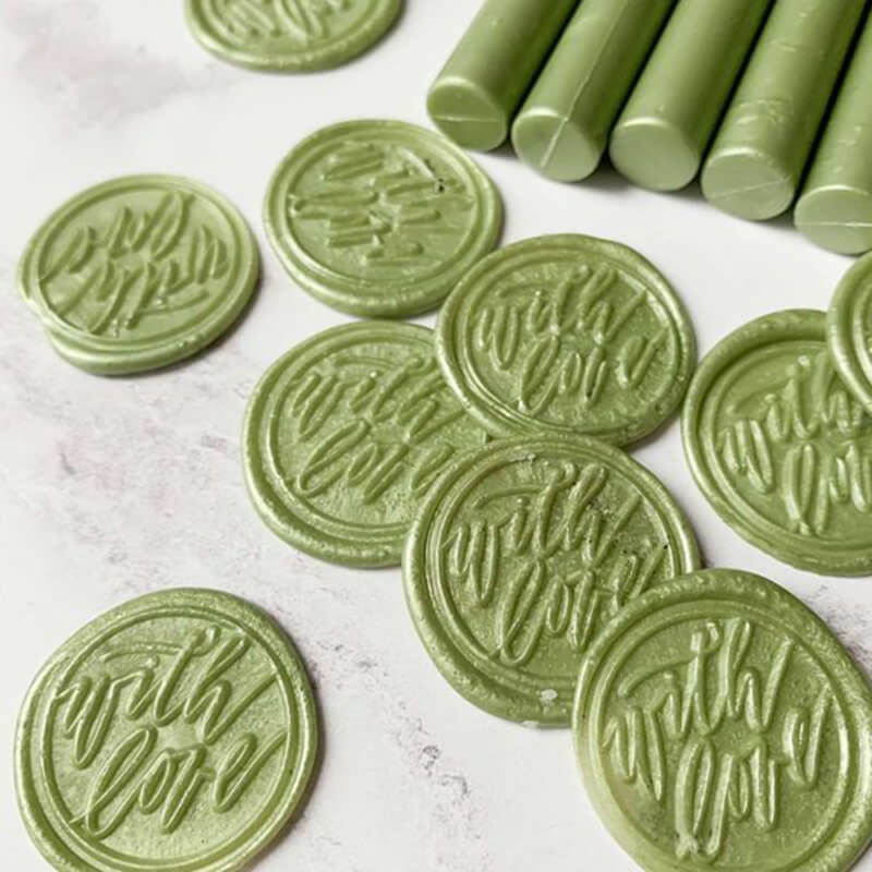 Olive Sealing Wax Sticks