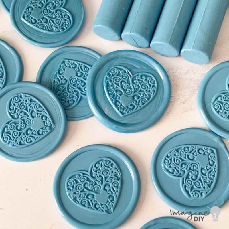 Blue Sealing Wax Sticks