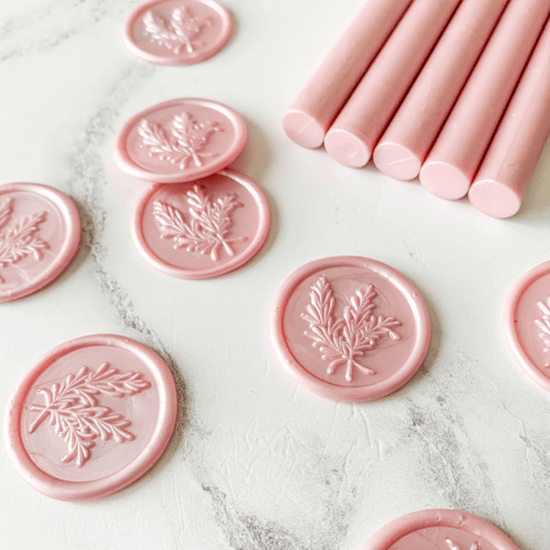Soft Pink Sealing Wax Sticks