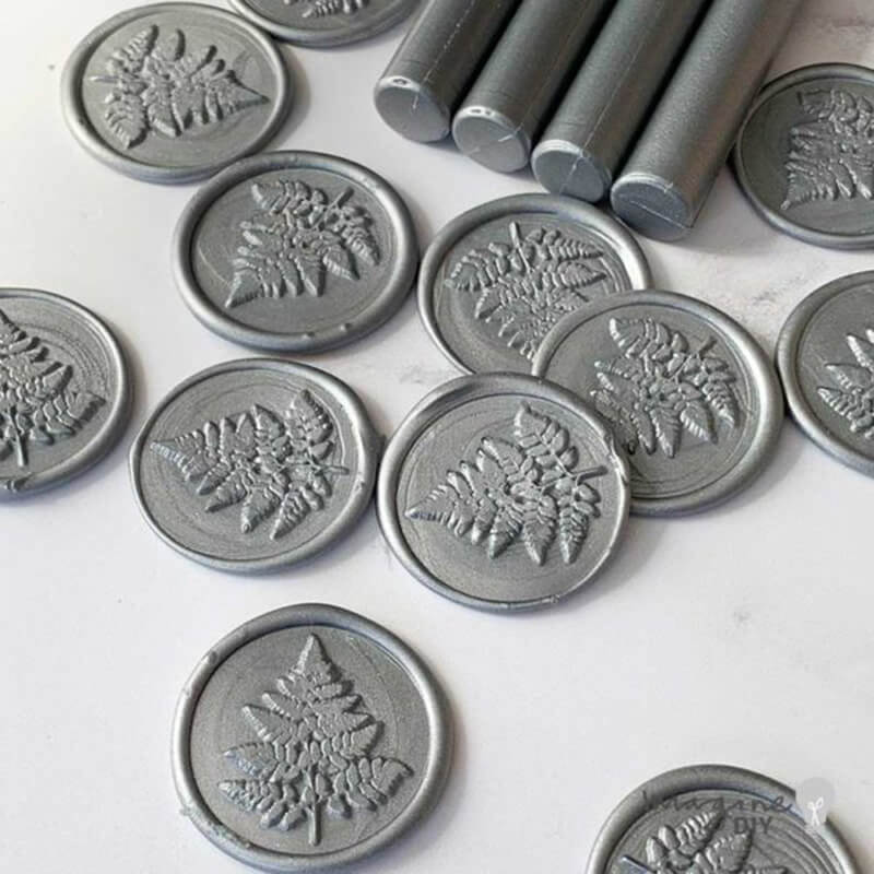 Silver Sealing Wax Sticks