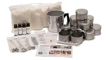 How to start with a soy candle making kit?